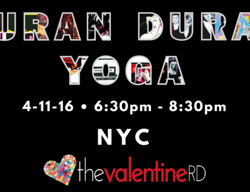 Duran Duran Yoga in NYC